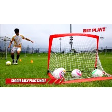 Раскладные футбольные ворота Net Playz  SOCCER EASY PLAYZ ODS-2060