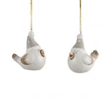 Украшение декоративное, Птичка керамическая 6,5 см, House of Seasons
