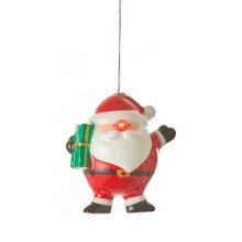 Украшение декоративное Шар LED, 11 см, Санта, House of Seasons