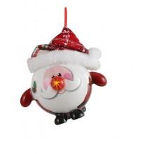 Украшение декоративное Шар Новогодний LED, 8 см, House of Seasons, Санта