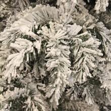 Гирлянда 180 см. декоративная Dinsmore Frosted зеленая со снегом