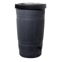 Емкость для сбора дождевой воды Prosperplast Woodcan, 265 л черная