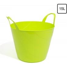 Емкость Prosperplast мультифункциональная гибкая, 15 л, зеленая