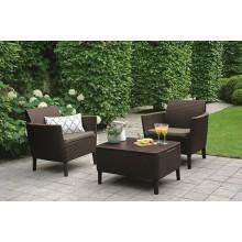 Набор мебели, Salemo balcony set, коричневый