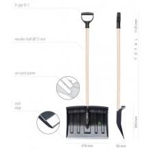 Лопата Practic Eco 37*113,5 см.