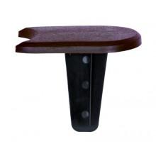 Комплект палисада Flat, коричневый, 3,8 м
