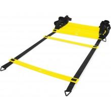 Лесенка LiveUp Agility Ladder координационная 8 м Black-Yellow (LS3671-8)