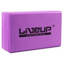 Блок для йоги LiveUp EVA Brick Purple (LS3233A-p)