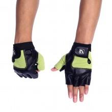 Перчатки LiveUp Training Gloves Black-Green (LS3058-SM)