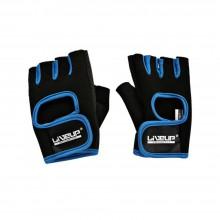 Перчатки LiveUp Training Gloves Black-Blue (LS3077-SM)