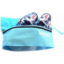 Сумка для обуви LiveUP 23x27 см Голубая (LSU2019-bl-S)