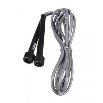 Скакалка LiveUp PVC Jump Rope 275x0.5 см Black-Grey (LS3115-g)