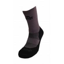 Носки Tramp Outdoor Bamboo Тёмн.Серый/черный 38-40