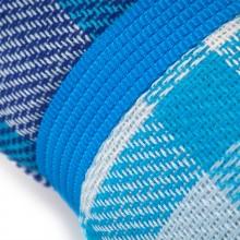 Коврик для пикника КЕМПИНГ НВ-15 (150х135см), голубая клетка